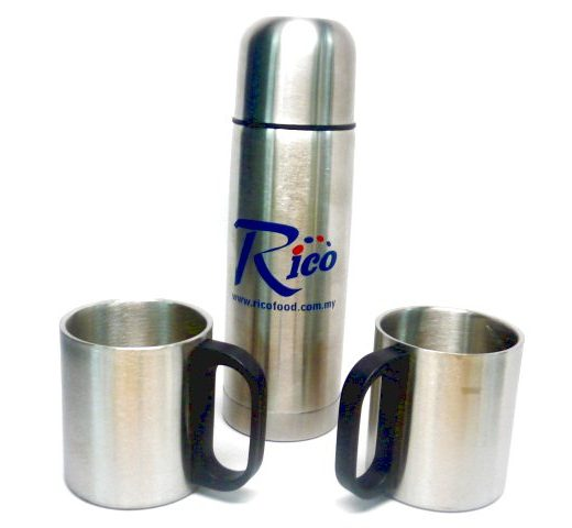 SET VASOS CON THERMO ACERO 1-1670810